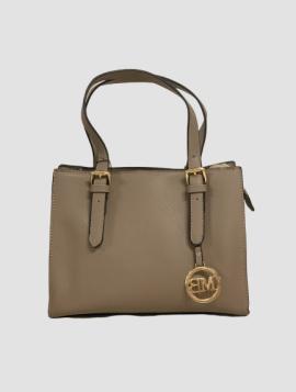 Håndtaske i Taupe