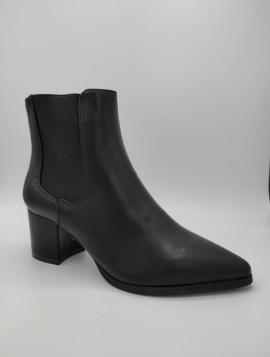 Klassisk Sort Ankelstøvle