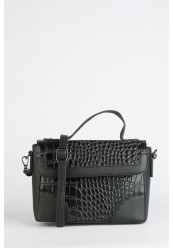 Skulder og Håndtaske Croco