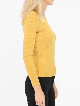 Finstrikket trøje