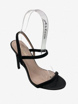 Sandal med hæl