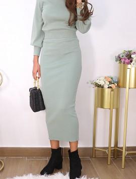 Trøje og nederdel sæt