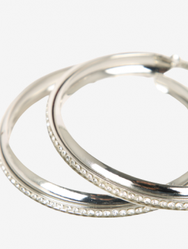 Hoops sølv simili
