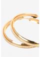 Hoops guld simili