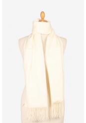 Hvidt Halstørklæde