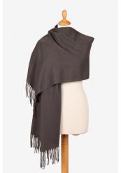 Halstørklæde Mørkegrå