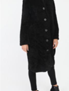 Lang ulden frakke
