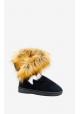 Bamsestøvle med pels