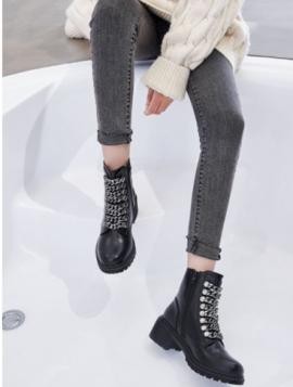 Støvle med kæder