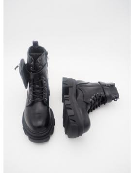 Ankelstøvle med Snørrebånd