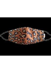 "Mundbind ""Leopard Maroon"""