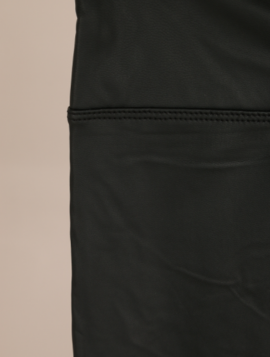 Leggings i læderlook