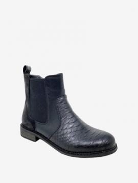 Støvle med Croco Combi