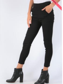 Slim leggings med lommer