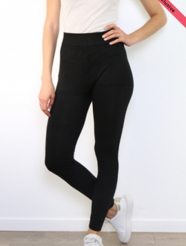 Leggings basic slim højtaljede