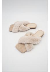 Fau Fur Pels Sandal
