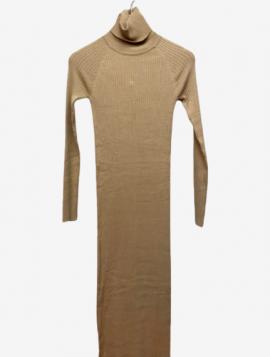 Turtleneck Bodycon kjole