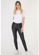 Skinny læder bukser