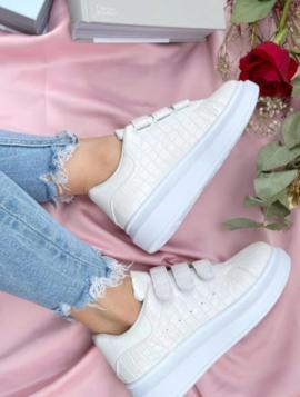Sneakers Plateau Velcro
