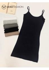 Elastisk kjole (6 Farver)