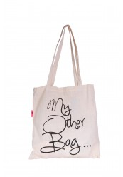 """Stof net """"My Other Bag"""""""