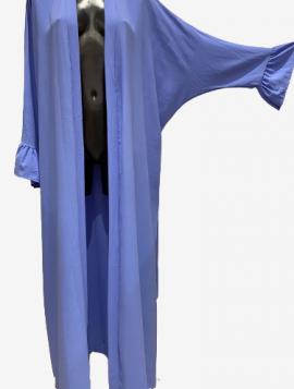 Lang cardigan kjole