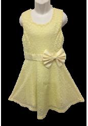 Kjole med sløjfe
