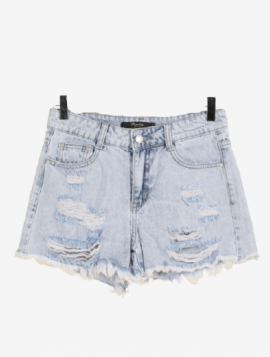"Denim Shorts ""Ripped"""