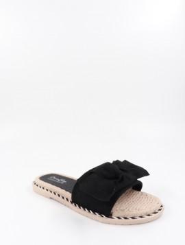 Sandal med sløjfe