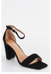 Sandaler med blokhæl