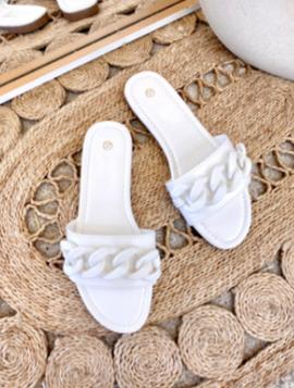 Sandal med mat kæde