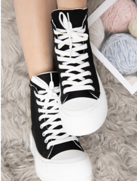 Sneakers plateau sål