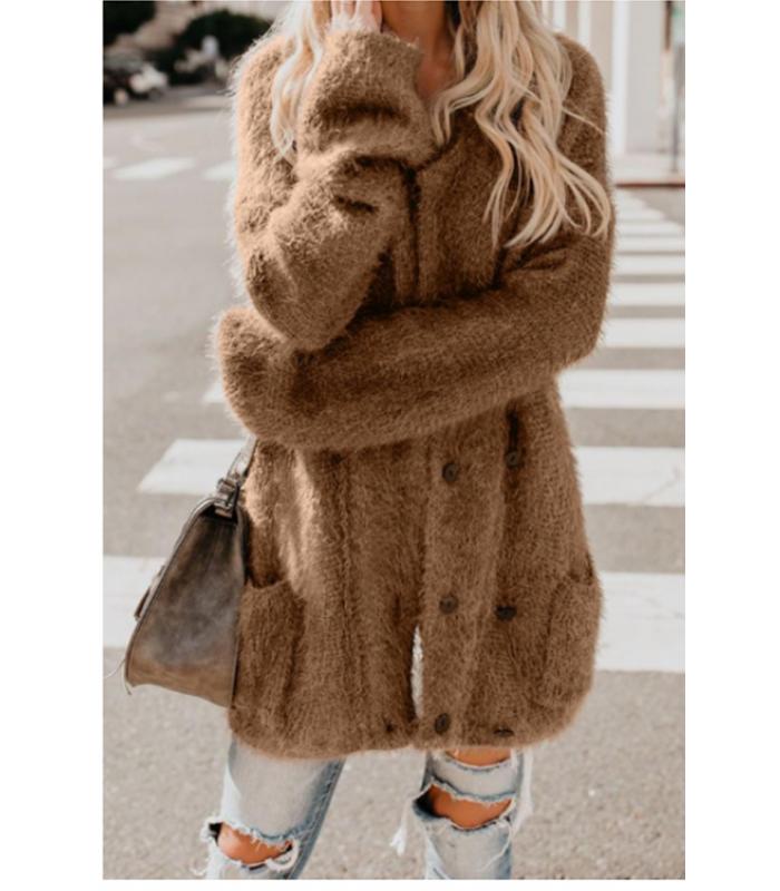 Fluffy Cardigan