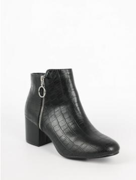 Ankelstøvle med hæl