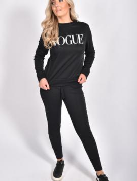 "Joggingsæt ""Vogue"""