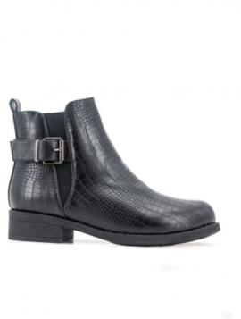 Ankel støvle croco