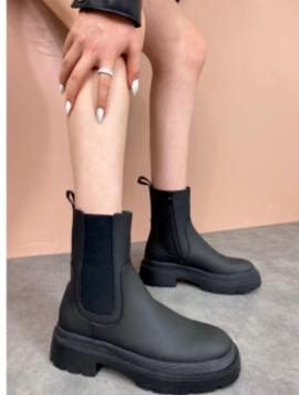 Robust Ankelstøvle med elastik