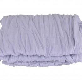 Let lilla-blåt tube tørklæde
