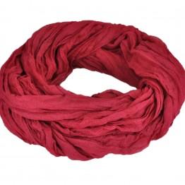 Let rødt tube tørklæde