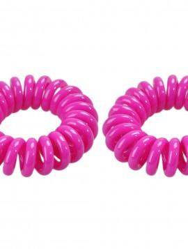 lilla spiral hårelastik