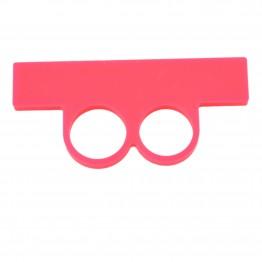 Pink ring med stav