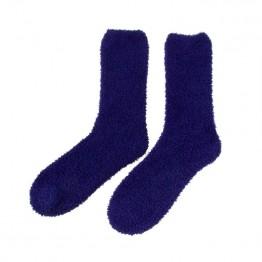 Hyggestrømper i mørkeblå