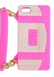 Pink cover med hank og taske design