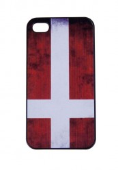 cover med dannebrog til iphone 5