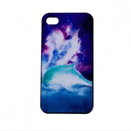Iphone5 cover med delfin motiv