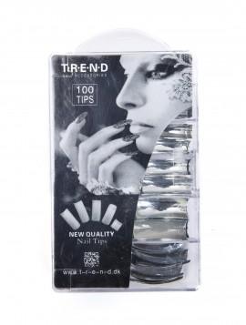 Sølv negletipper