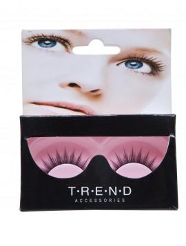 Kunstige øjenvipper inkl. lim