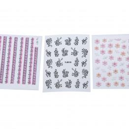 Flotte negle stickers