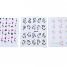 Mønstrede klistermærker til negle