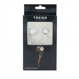 Hvide in-ear hovedtelefoner
